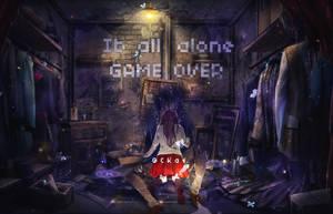 Ib all alone by AmbroserC