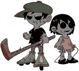 Zombie Kids by sledgehammer-venable