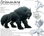 Grimmarg the Warg by kyoht