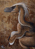 Dragon Feathers - Velociraptor by kyoht