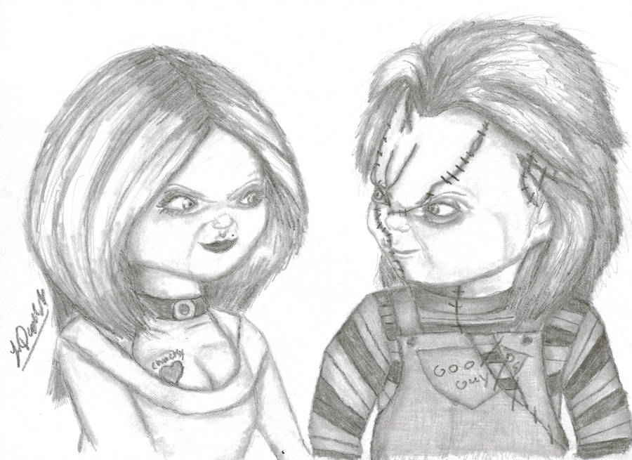 chucky coloring pages to color - photo#33