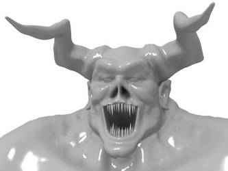glossy demon by StaleFlesh