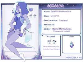 Opalescent Diamond by BlackStagBeetle