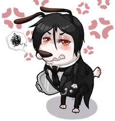 His Butler, a 'Cowardly' fellow(?) by Jiji-da-cool