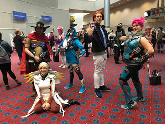Kumoricon 2018-Overwatch Group by GamerGirl14
