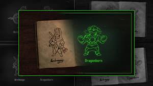 Elder Scrolls vaultboy by Hieronymus7Z
