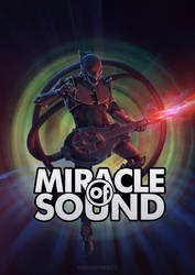 Miracle Of Sound fanfiber print by Hieronymus7Z