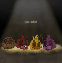 Good ending! [Fnaf 3] by ponyrlucy