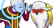Whis and Tokitoki by LukasAhl1