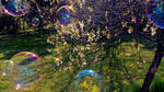 Bubbles and Blossoms. by Jelin