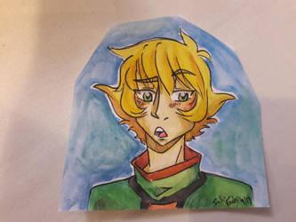 Watercolor Pidge by SollinFaolan