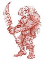 Dragonborn Preliminary Sketch by Smujspice