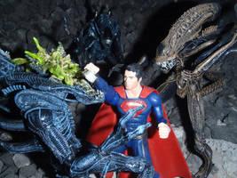 Superman Vs Aliens by Krulos