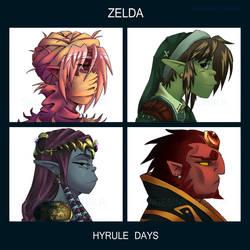 Hyrule Days by SageSins