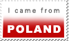 POLAND stamp 3 by polska