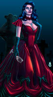 Gothic Vampiress by MrTuRn