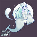MGC Day 16 - Ghost by RedRabbu