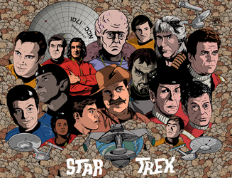 Star Trek These are the Voyages from OS to WOK by DaveMilburn