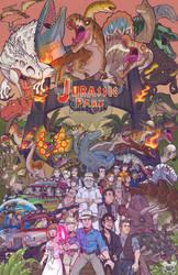 Jurassic Park Poster by BallBots