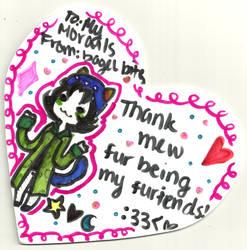 thank mewwww! by sherbi
