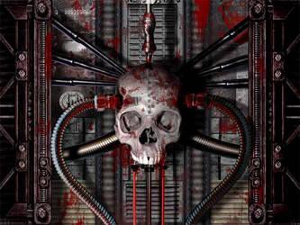 Skull machine by serox