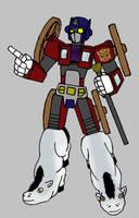 Ye olde Optimus Prime by Fishbug
