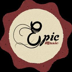 Epic Music - retro vintage logo by EpicMusicOfficial