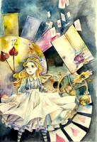 Alice in Wonderland by juyari