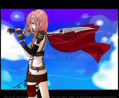 FFXIII : Lightning by yomiku