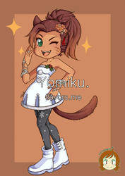Commission: Sarangerel by yomiku