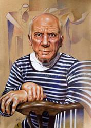 Pablo Picasso by Marcysiabush