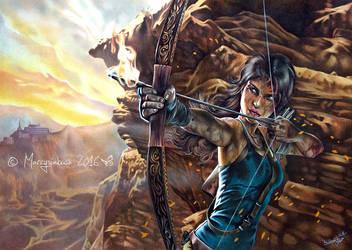 Rise of The Tomb Raider by Marcysiabush