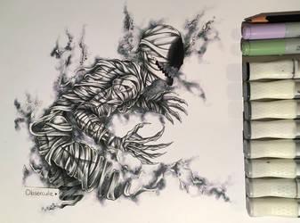 Black Ghost Ajin~ by Obsercule-Arts