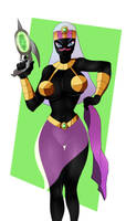 Queen of the  Martians by TheJefersonChan