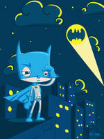 Batman by Quincula