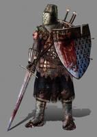 Rusty Knight by InfernalFinn