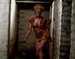 Silent Hill - Bubble Nurse by ChocolateDecadence