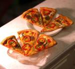Miniature Pizza Slices by ChocolateDecadence