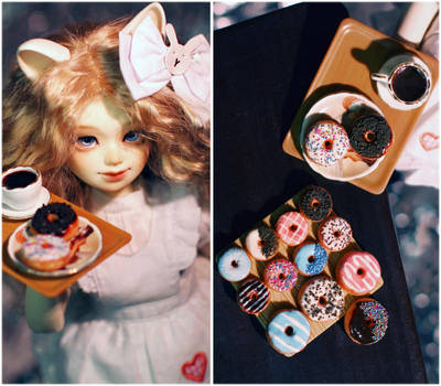 Donuts and Toffee by ChocolateDecadence