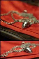 Iron Man Pendant by ChocolateDecadence