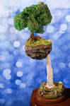 Small Floating Island by ChocolateDecadence
