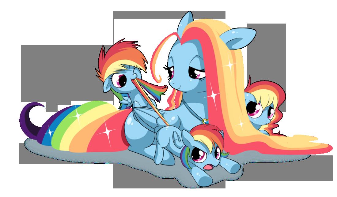 RAINBOW FAMILY by EQUESTRiABOY