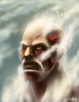 Colossal Titan by mazingerpip