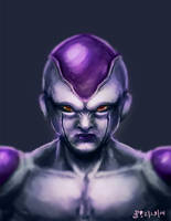 F is for Frieza by mazingerpip