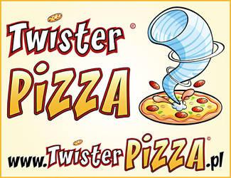 Logo twisterPIZZA by KrzysztofCzachura