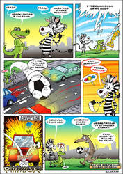 comic with crocodile 5 by KrzysztofCzachura