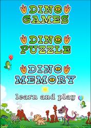 Logo Design for Dino Games by KrzysztofCzachura