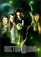 Doctor Who series 6 poster b by gazzatrek