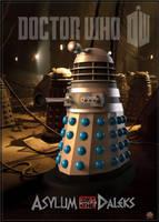 Dalek Asylum poster 02 by gazzatrek