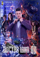 Doctor Who series 7 poster 1 by gazzatrek